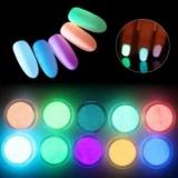 Флуоресцентный порошок – звездной пыли в ультрафиолете