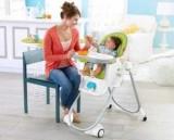 Як вибрати високий стілець дитячий для годування дитини?